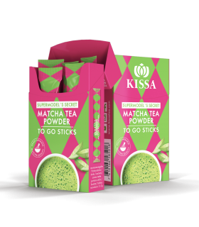 Té Matcha Supermodel's Secret to Go Sticks (5x2gr)
